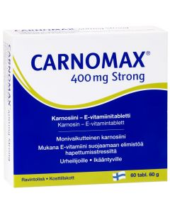 Carnomax 400 Extra Strong (60 tabl)