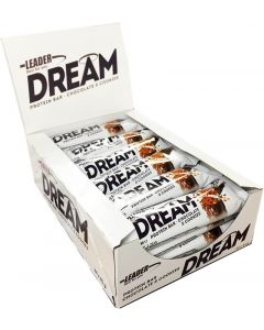 Leader Protein Dream Chocolate & Cookies proteiinipatukka 45g x 24kpl