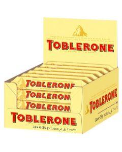 Toblerone Milk maitosuklaapatukka 35g x 24kpl