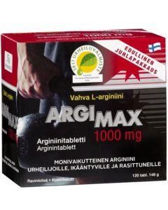 Argimax 1000mg juhlapakkaus (120 tabl)