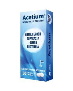 Acetium Imeskelytabletti 30kpl - Eroon tupakasta
