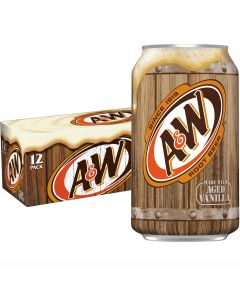 A&W Root Beer USA virvoitusjuoma 355ml x 12-pack
