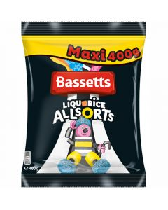 Bassetts Liquorice Allsorts Maxi 400g