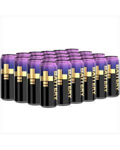 Battery Blueberry energiajuoma 500ml x 24-pack