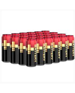 Battery Peachberry energiajuoma 500ml x 24-pack