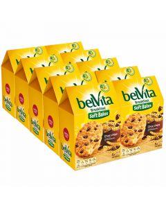 Belvita Soft Bakes Choc chips välipalakeksi 250g x 10kpl