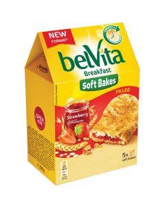 Belvita Soft Bakes Strawberry välipalakeksi 250g