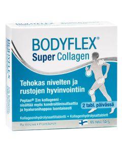 Bodyflex Super Collagen kollageenihydrolysaattitabletti (60 tabl)