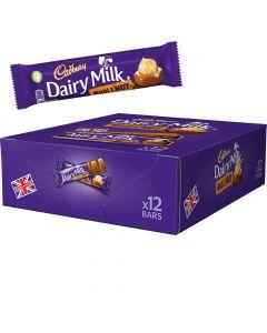 Cadbury Dairy Milk Wholenut suklaapatukat 12kpl (540g)