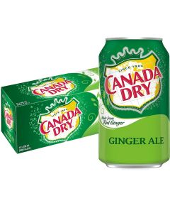 Canada Dry Ginger Ale USA virvoitusjuoma 355ml x 12-pack