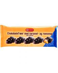 Carletti Suklaasammakko Toffee- ja rommitäytteellä 60g