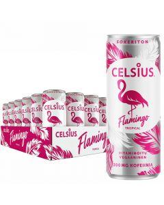Celsius Flamingo Tropical energiajuoma 355ml x 24-pack