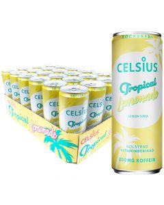 Celsius Tropical Lemonade sokeriton energiajuoma 355ml x 24-PACK