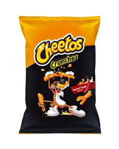 Cheetos Crunchos Sweet Chili maissisnacks 95g