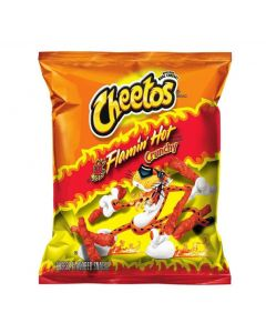 Cheetos Flamin' Hot Crunchy juustosnacks 227g