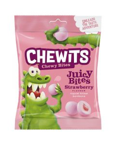 Cloetta Chewits Juicy Bites Strawberry 220g