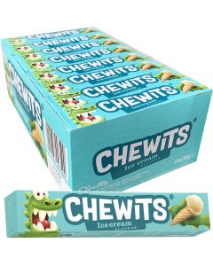 Cloetta Chewits Ice Cream 30g x 24kpl