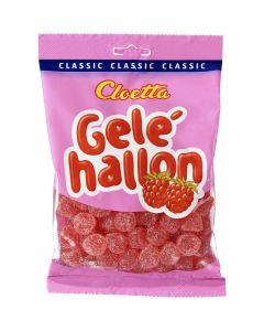 Cloetta Gelehallon vadelmatoppari 350g