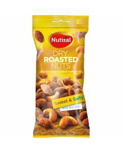 Cloetta Nutisal Dry Roasted Sweet and Salty Mix pähkinäsekoitus 60g