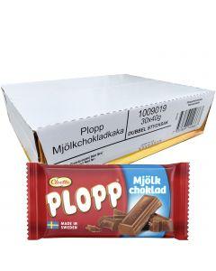 Cloetta Plopp maitosuklaalevy 40g x 30kpl