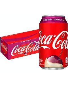 Coca-Cola Cherry Vanilla USA virvoitusjuoma 355ml x 12-pack