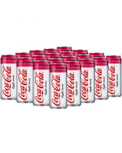 Coca-Cola Twisted Strawberry Light virvoitusjuoma 330ml x 20kpl