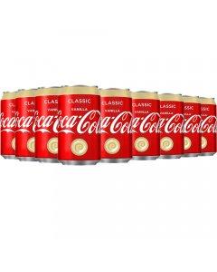 Coca-Cola Classic Vanilla virvoitusjuoma 330ml x 24kpl