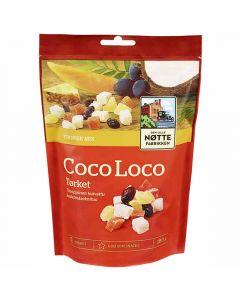 Den Lille Nöttefabrikken Coco Loco Trooppinen Hedelmäsekoitus 180g