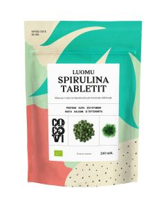 CocoVi Spirulina-tabletit 115g