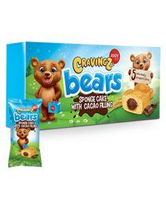 Cravingz Nalle leivoskakku suklaatäytteellä 6-pack