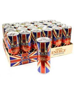 De Royal energiajuoma 250ml x 24-pack