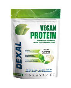 Dexal Vegan Protein Natural kasviproteiinijauhe 500g