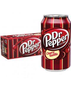 Dr Pepper Cherry Vanilla USA virvoitusjuoma 355ml x 12-pack