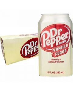 Dr Pepper Vanilla Float USA virvoitusjuoma 355ml x 12-pack