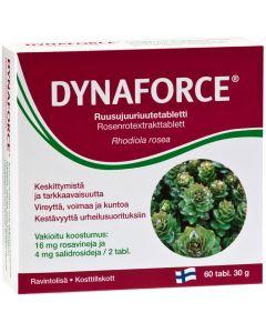 Dynaforce ruusujuuriuutetabletit (60 tabl)