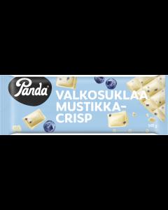 Panda Valkosuklaa Mustikka-Crisp suklaalevy 145g