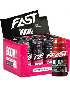 Fast Boom BCAA+Creatine Berry energiashotti 60ml x 12kpl