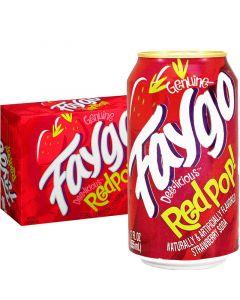 Faygo Redpop USA virvoitusjuoma 355ml x 12-pack