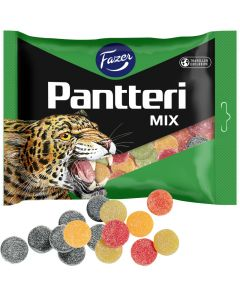 Fazer Pantteri Mix Traveller Exclusive 500g