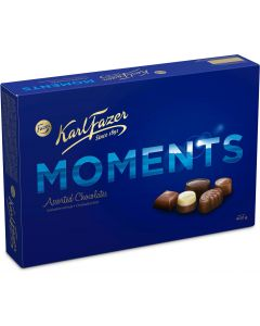 Karl Fazer Moments suklaakonvehteja 400g