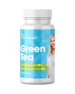 Fitfarm Green Tea Vihreä tee uute 60 kapselia