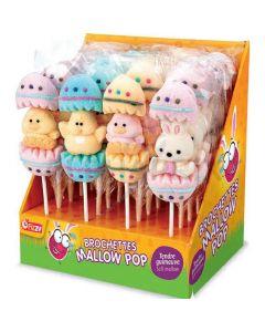 Fizzy Pääsiäishahmot vaahtokarkkitikkari 35g x 24kpl