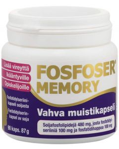 Fosfoser Memory muistikapselit