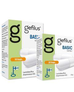 Gefilus basic kampanjapakkaus (50 + 20 kaps)