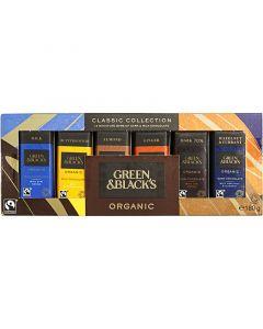 Green&Blacks Organic suklaalevylajitelma 12kpl