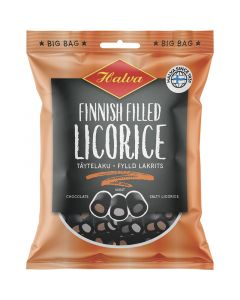 Halva Finnish Filled Licorice täytelaku 500g
