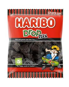 Haribo Drop Mix lakusekoitus 400g