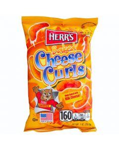 Herr's Baked Cheese Curls juustosnacks 198,5g