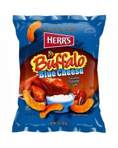 Herr's Buffalo Blue Cheese Curls juustosnacks 198,5g
