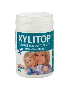 Xylitop täysksylitolitabletti Piparminttu (100 tabl)